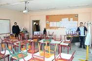 Πάτρα: Αυτοψία Πελετίδη σε σχολεία που εκτελούνται έργα ανακατασκευής (φωτο)