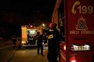 Πάτρα: Άρπαξε φωτιά καμινάδα τζακιού στα Βραχνέικα