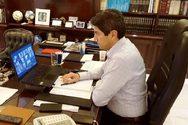 Ο Λευτέρης Αυγενάκης πραγματοποίησε τηλεδιάσκεψη με τη διοίκηση του ΠΕΑΚ Πατρών
