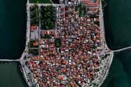 Εντυπωσιακές αεροφωτογραφίες από το Αιτωλικό!