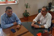 Δήμος Ερυμάνθου: Συνάντηση Δημάρχου με τον Αντιπεριφερειάρχη Αγροτικής Ανάπτυξης (φωτο)