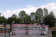 Φοιτητικοί Σύλλογοι πραγματοποίησαν μαζική κινητοποίηση στην Πρυτανεία του Πανεπιστημίου Πατρών