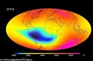Εξασθενεί το μαγνητικό πεδίο της Γης μεταξύ Αφρικής και Νότιας Αμερικής