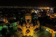Ο Άγιος Ανδρέας φωτίζει τις νύχτες της Πάτρας και της Χριστιανοσύνης (φωτο)