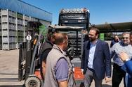 Δυτ. Ελλάδα: Επίσκεψη του Περιφερειάρχη, Ν. Φαρμάκη, σε παραγωγικές μονάδες τυποποίησης αγροτικών προϊόντων (φωτο)