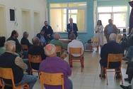 Στο Μιχόι ο Δήμαρχος Δυτικής Αχαΐας για το νερό