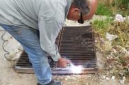 Κάτω Αχαΐα: Τοποθετήθηκαν καπάκια σε επικίνδυνα φρεάτια