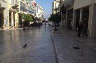 Πάτρα: Κλειστά τα καταστήματα του Αγίου Πνεύματος