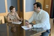 Συνάντηση Χριστίνας Αλεξοπούλου με τον ΥπουργόΨηφιακής Διακυβέρνησης, κ. Κυριάκο Πιερρακάκη