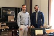 Πάτρα: O Χαράλαμπος Ανδρικόπουλος συναντήθηκε με τον Εμπορικό ακόλουθο της πρεσβείας του Αζερμπαϊτζάν