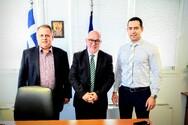 Πάτρα: O Παναγιώτης Σακελλαρόπουλος συναντήθηκε με τον Αργύριο Τζουβελέκη