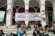 Πάτρα: Πραγματοποιήθηκε συγκέντρωση διαμαρτυρίας για το Περιβάλλον (φωτο)