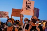 Tζορτζ Φλόιντ - Αποκλεισμένο από διαδηλωτές το κέντρο της Ουάσινγκτον (φωτο)