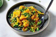 Φτιάξτε κάρι με πατάτες και αρακά
