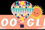 Google - Καλωσορίζει το καλοκαίρι με το σημερινό της doodle