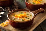 Σούπα κρεμμυδιού με τυρί