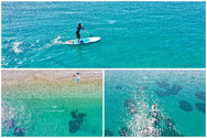 SUP - Η νέα μόδα του surf στην Πλαζ της Πάτρας (video)
