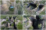 Το επικίνδυνο μα και πολύτιμο βουνό της Αττικής με τα απύθμενα χάσματα (video)
