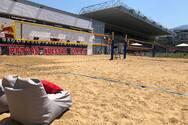 Το beach volley στο γήπεδο της Παναχαϊκής, στην Αγυιά, έγινε σημείο αναφοράς (pics)