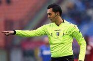 Ο ιταλός διαιτητής Μάρκο Ντι Μπέλο σφυρίζει το ΠΑΟΚ - ΑΕΚ