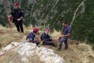 Κλειτορία - Γυναίκα έπεσε σε χαράδρα κοντά στο σπήλαιο των Λιμνών