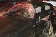 Σοβαρό τροχαίo ατύχημα στην Πατρών - Πύργου