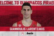 Λαρεντζάκης: «Θέλω να αποδείξω πως δεν βρίσκομαι τυχαία στον Ολυμπιακό»