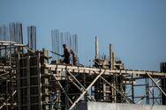 Μείωση της οικοδομικής δραστηριότητας τον Απρίλιο