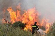 Παραμένει υψηλός κίνδυνος πυρκαγιάς σε Ηλεία και Αχαΐα την Τετάρτη