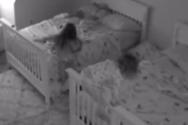 Κοριτσάκι μετέτρεψε τον πολυέλαιο σε κούνια (video)