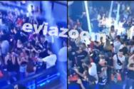 Εύβοια: Ξέφρενο πάρτι συνωστισμού με γνωστό ράπερ σε club (video)