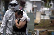 Βραζιλία - Οι νεκροί από κορωνοϊό πλησιάζουν τις 100.000