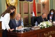 Δένδιας για ΑΟΖ Ελλάδας - Αιγύπτου: