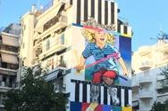 Ο Jay Kaes χάρισε μια ξεχωριστή τοιχογραφία στο 5ο Διεθνές Street Art Festival της Πάτρας!