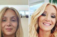 Ναταλί Κάκκαβα: Πριν άβαφη και αχτένιστη και μετά… μεταμορφωμένη, με make up και μπούκλες