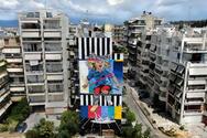 Το 5ο Διεθνές Street Art Φεστιβάλ Πάτρας παραδίδει στην πόλη την 3η τοιχογραφία! (φωτο)
