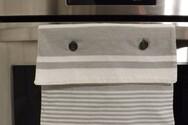 Γιατί δεν πρέπει να κρεμάτε την πετσέτα της κουζίνας στο φούρνο