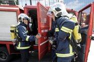 Πάτρα: Ξέσπασε φωτιά σε βαφείο αυτοκινήτων