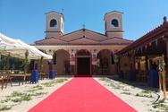 Θρησκευτική Πανήγυρις στον Ιερό Ναό Κοιμήσεων της Θεοτόκου στην Παραλία Πατρών