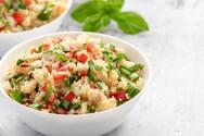 Συνταγή για σαλάτα πλιγούρι με λαχανικά