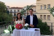 Παντρεύτηκε στο Ναύπλιο ο εκπρόσωπος Τύπου του ΚΙΝΑΛ, Παύλος Χρηστίδης