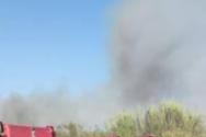 Φωτιά ξέσπασε στην περιοχή της Καλόγριας