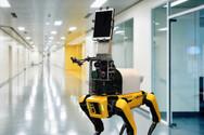 Ρομπότ ελέγχει τα συμπτώματα κορωνοϊού από απόσταση (video)
