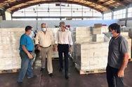 Ο Άγγελος Τσιγκρής στην Ένωση Αγροτικών Συνεταιρισμών Πάτρας για τα σταφύλια (φωτο)