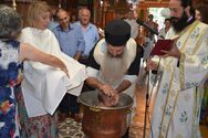 Κορωνοϊός - Βαπτίστηκε ο «ασθενής 0» στη Φθιώτιδα, ένα μικρό αγοράκι (βίντεο)