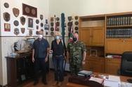 Η Σία Αναγνωστοπούλου επισκέφθηκε την Εφορεία Αρχαιοτήτων Αχαΐας