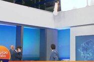 Πήρε φωτιά on air το στούντιο του Γιώργου Παπαδάκη (video)