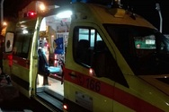 Πάτρα: Μηχανάκι με ανηλίκους καρφώθηκε σε μάντρα της Λεύκας