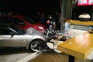 Χανιά: 25χρονος αλλοδαπός μπούκαρε με αυτοκίνητο σε κατάστημα