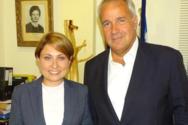 Χριστίνα Αλεξοπούλου: Θετικός ο Μάκης Βορίδης για γαλακτοκομική σχολή και εγγειοβελτιωτικά σε Καλάβρυτα και Κλειτορία